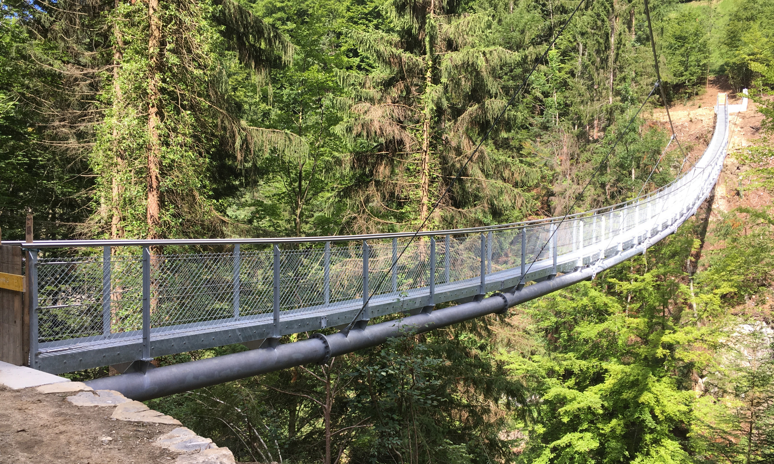 Hängebrücke Sundbach