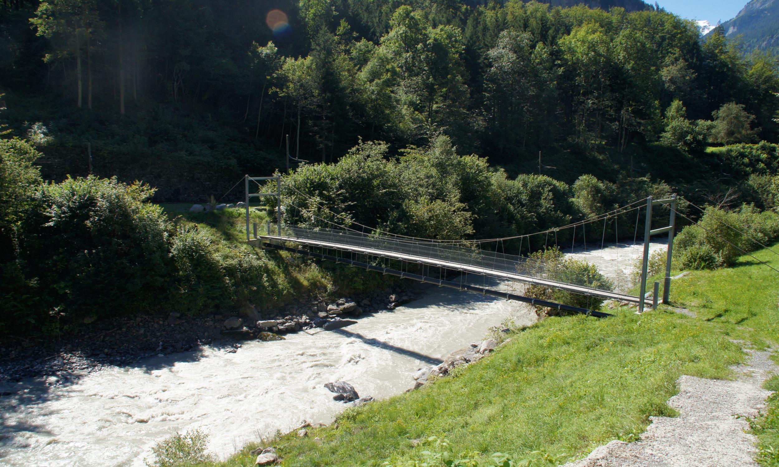 Hängeseilbrücke Gündlischwand