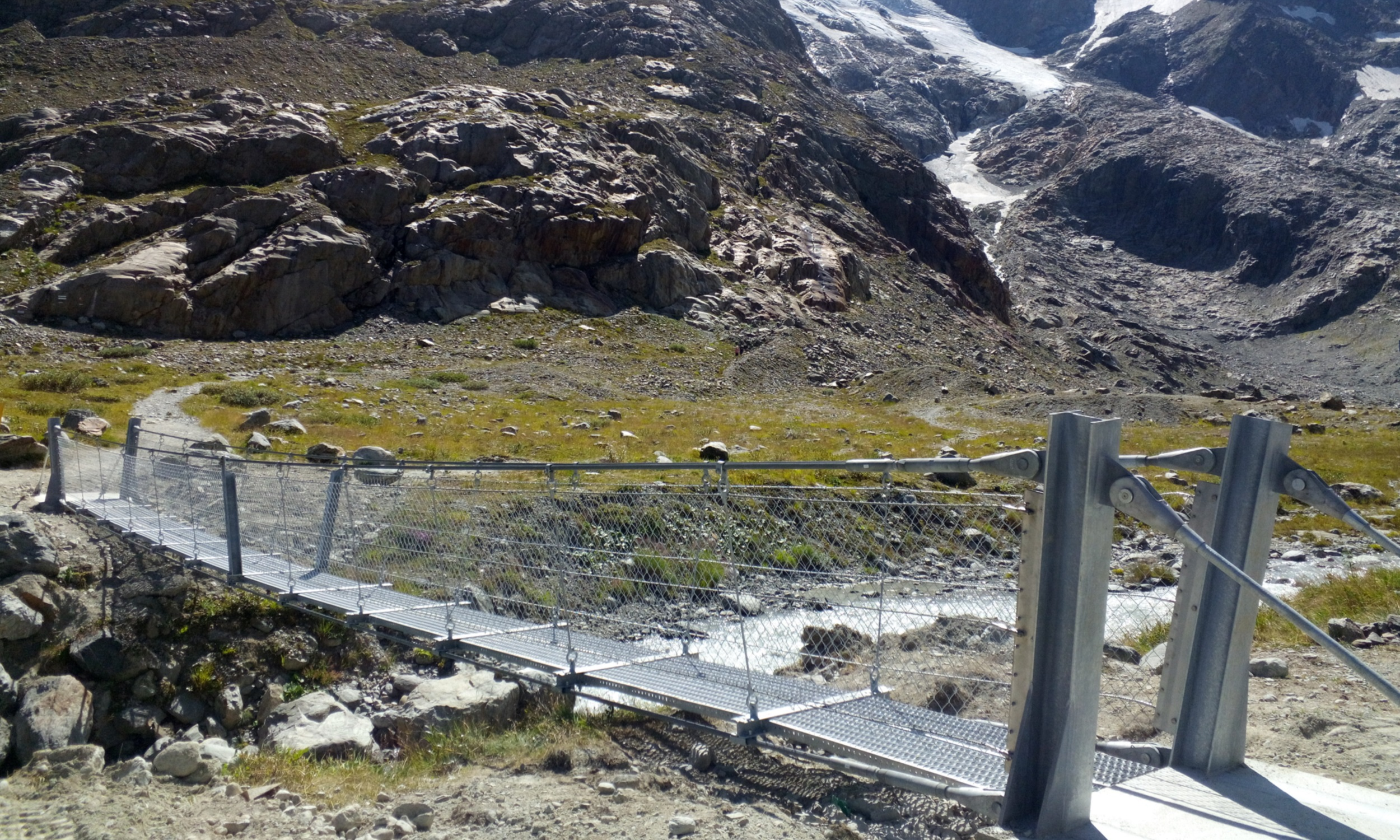 Hängeseilbrücke Umpol 2